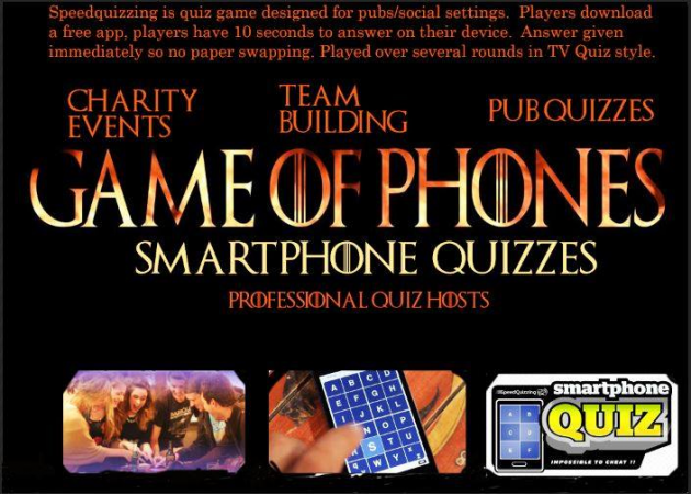 Game Of Phones Smartphone Quizzes | Check availability
