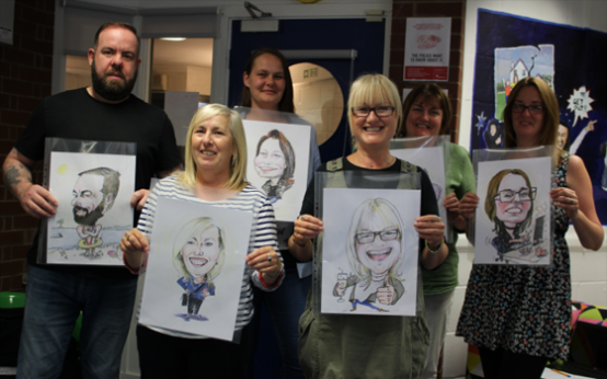 Chris Taylor Caricatures