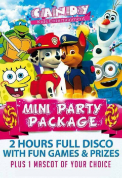 Children's entertainment package deals