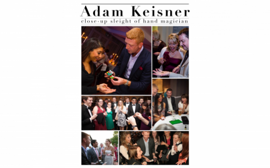 Close-up, sleight of hand magician for any event - Adam Keisner