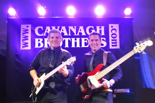 The Cavanagh Brothers Wedding Band