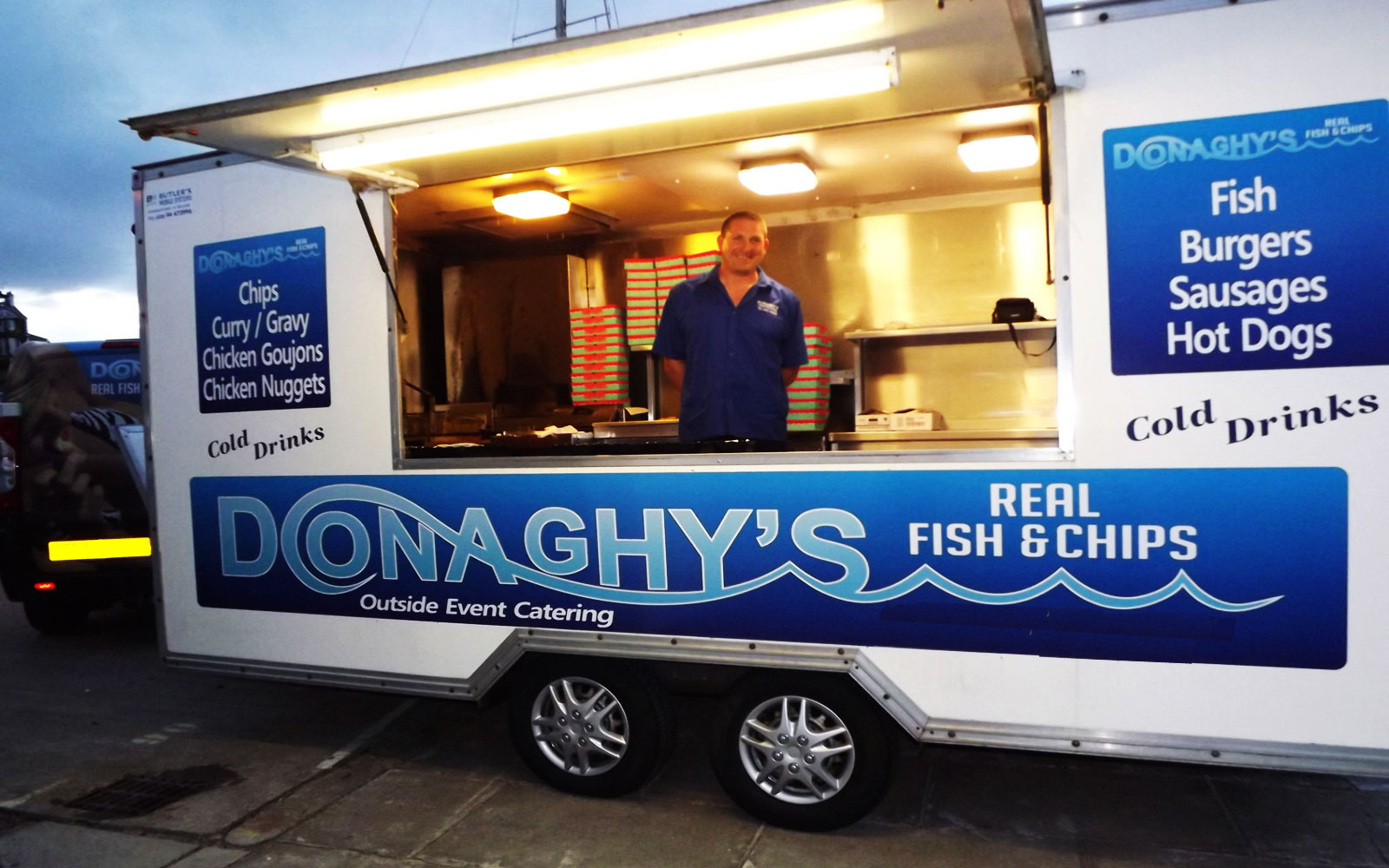 Fish & Chip Van Hire Northern Ireland