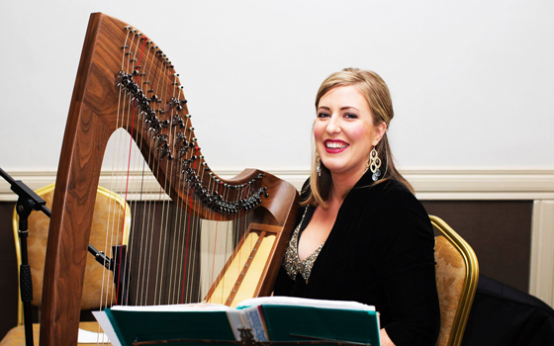 Lucia McGinnis Harpist