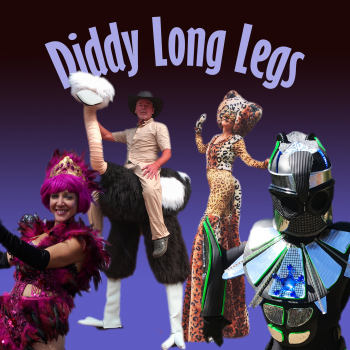 Diddy Long Legs - Stilt Walkers