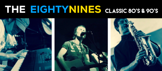 The EightyNines - Classic hits from 80's and 90's