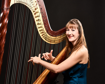 Harpist Heather Wrighton