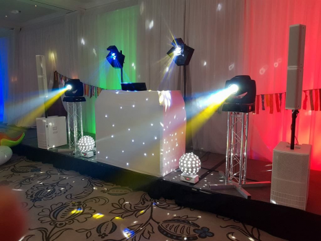 Stunning White Wedding DJ Package