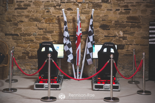 Twin Head to Head Race Simulators