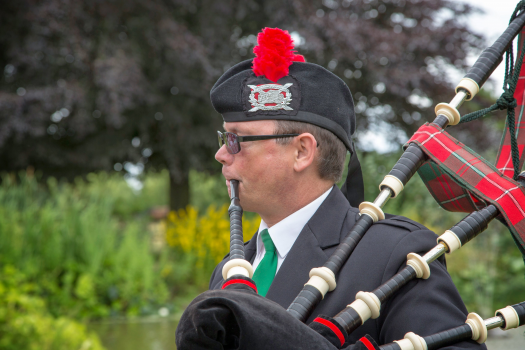East of England Bagpiper