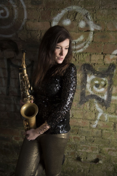 Sarah sax player