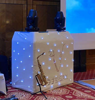 DJ and SAX Wedding Package