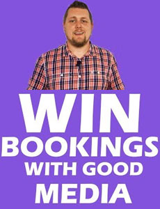 Gigging advice - How to win bookings with good media
