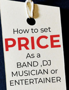 band dj prices