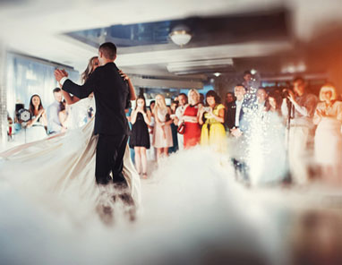Get your wedding guest on the dance floor early